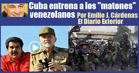Cuba Entrena Matones Venezolanos