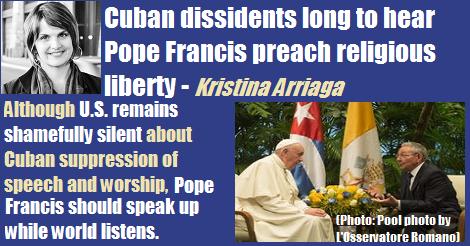 Cuban Dissidents Long To Hear Pope