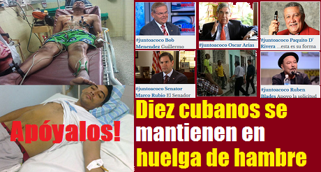 Cubanos En Huelga De Hambre