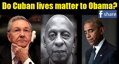 do Cuban lives matter to Obama FB