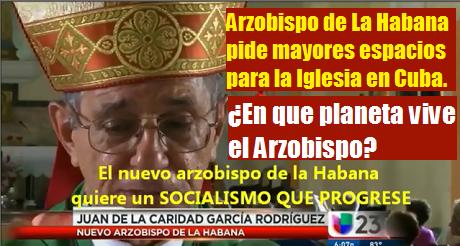 en que planeta vive el Arzobispo