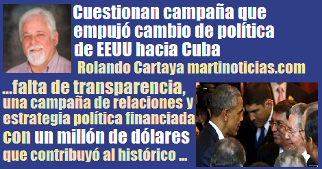 Falta De Transparencia Relaciones Eeuu Cuba