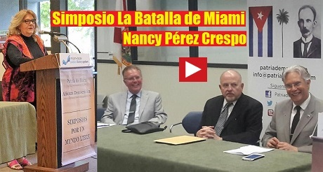 Nancy Perez Simposio Batalla de Miami FB