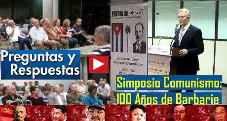 Preguntas Simposio Comunismo 100 Anos De Barbarie FB