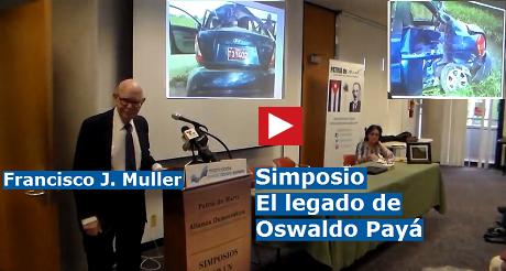 Francisco J Muller Simposio Oswaldo Paya FB