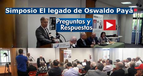 Preguntas Simposio Oswaldo Paya FB