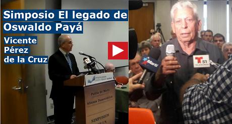 Vicente Perez Simposio Oswaldo Paya FB