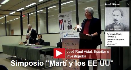 Jose Raul Vidal Simposio Marti EEUU FB