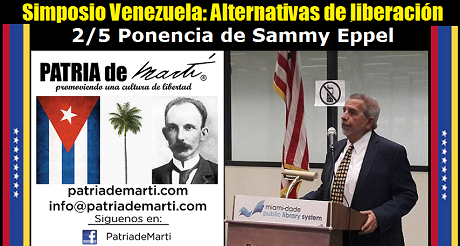 Sammy Eppel - Simposio Venezuela: Alternativas de liberación
