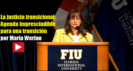 Maria Werlau Justicia transicional Cuba FB