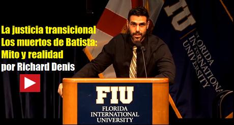 Ridchard Denis Justicia Transicional Cuba FB