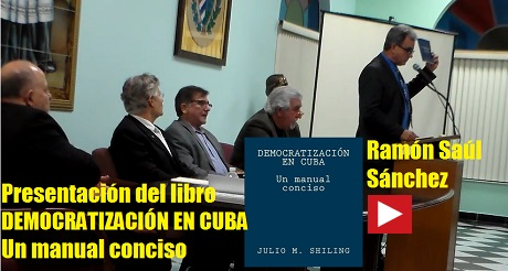 Libro Democratizacion en Cuba Ramon S Sanchez FB