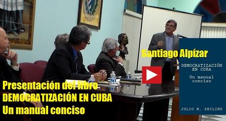 Libro Democratizacion en Cuba Santiago Alpizar FB