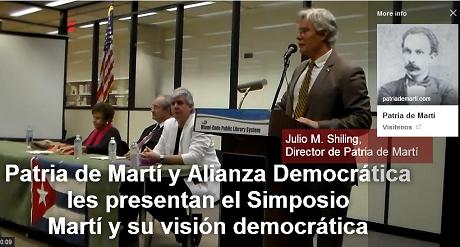 presentacion simposio  Marti vision democratica FB