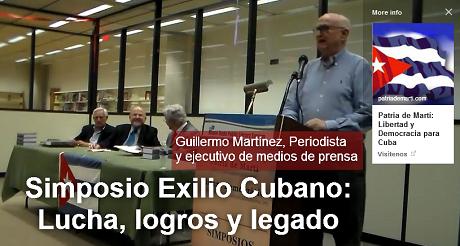 simposio exilio cubano Guillermo Martinez 460x246