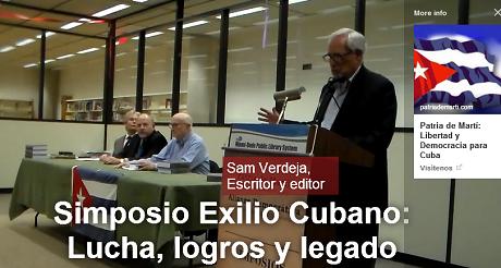 simposio exilio cubano Sam Verdeja 460x246
