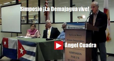 angel Cuadra Simposio La Demajagua vive ponencia