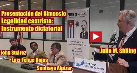 Presentacion Simposio Legalidad Castrista FB