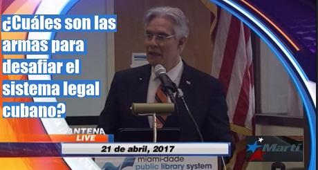 armas para desafiar sistema legal cubano FB