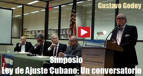 ley de ajuste cubano gustavo godoy
