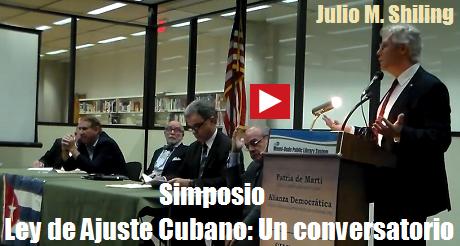 ley de ajuste cubano julio m shiling