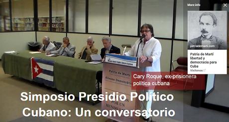 Cary Roque prisionera politica cubana