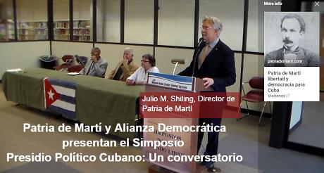 Julio M Shiling Presidio Politico Cubano FB