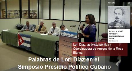 Lori Diaz Presidio Politico Cubano