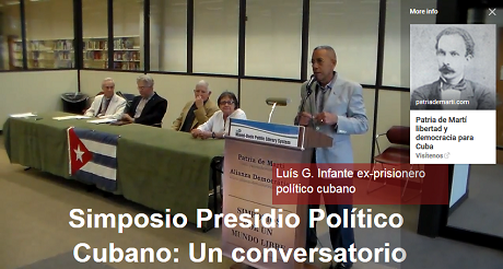 Luis G Infante ex prisionero politico cubano