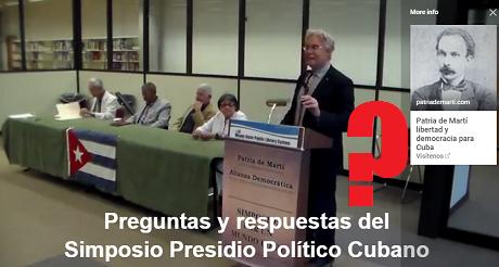 Preguntas y Respuestas Presidio Politico Cubano