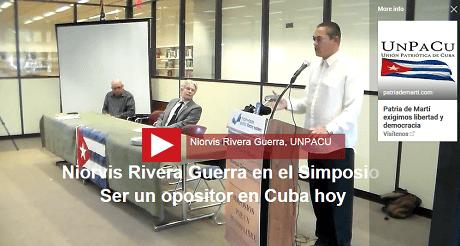 Niorvis Rivera ser un opositor Cuba