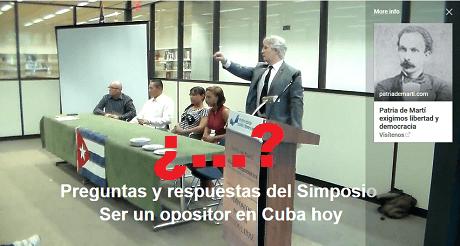 preguntas y respuestas Ser un opositor en Cuba