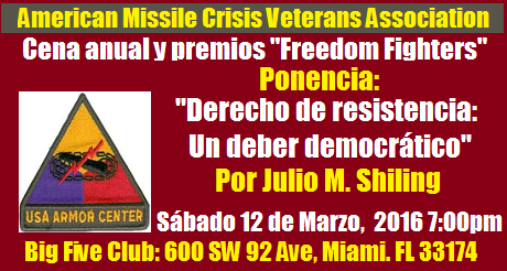 American Missile Crisis Veterans  Association event