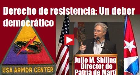 derecho de resistencia deber democratico