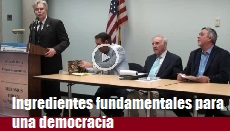 Ingredientes Fundamentales Para Una Democracia