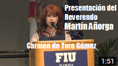 Carmen de Toro presenta Martin Anorga