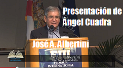 Jose Albertini presenta Angel Cuadra