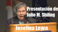 Josefina Leiva presenta Julio M Shiling