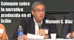 Manuel C Diaz narrativa producida exilio