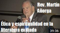 Martin Anorga etica espiritualidad literatura exiliada