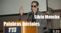 palabras iniciales Silvio Mancha