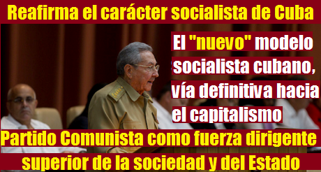 Nuevo modelo socialista cubano