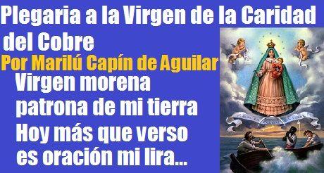 plegaria Virgen de la Caridad Marilu Capin Aguilar