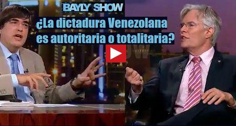 Dictadura venezolana autoritaria o totalitaria FB