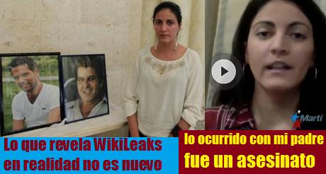 A Oswaldo Paya lo mato Gobierno cubano