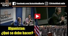 Afganistan: ¿Qué se debe hacer?