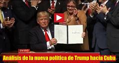 Análisis de la nueva política de Trump hacia Cuba 238x127
