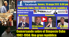 Conversando sobre Simposio Cuba 1952-1958 238x127