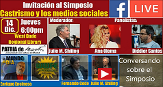 Conversando sobre el Simposio Castrismo y los medios sociales