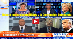 Debate intenso Hillary Convencion Democrata 238x127